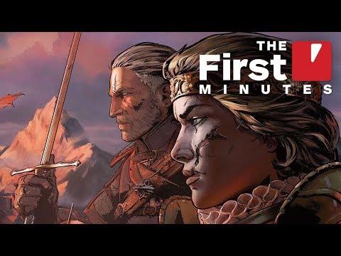 أول 11 دقيقة من Thronebreaker: The Witcher Tales