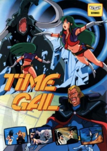رحلة لماضي الألعاب مع Time Gal