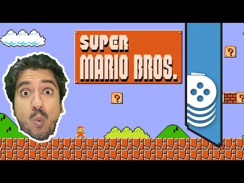 رحلة أحمد في تختيم ألعاب ماريو! Super Mario Bros. 1
