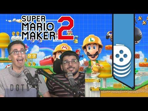 قلبنا ???? Super Mario Maker 2 ???? إلى لعبة زحلقة ورعب مع (RealFeras) الجزء الأول