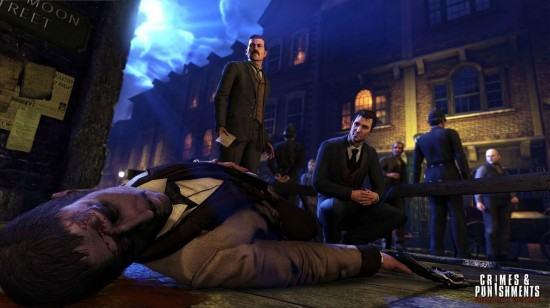 التحقيق في جريمة مع Sherlock Holmes