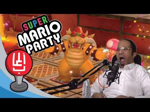 حفلة ماريو: الثنائي المرح! ???????? (2 ضد 2 الحلقة الثانية) Super Mario Party