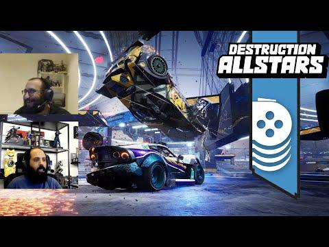 نجرب لعبة Destruction AllStars PS5