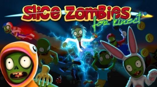 تحديد موعد إصدار لعبة Slice Zombie For Kinect