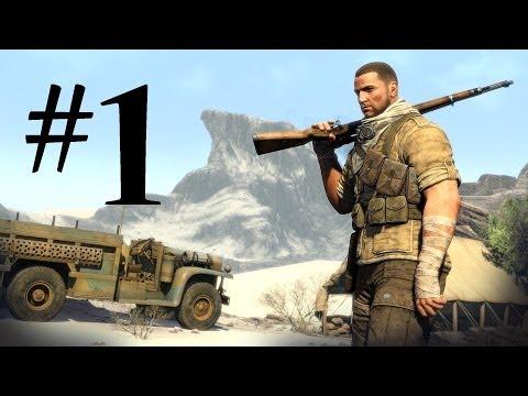 القناص المحترف #1 : Sniper Elite 3