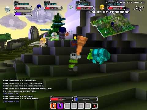 Cube World I عالم المكعبات #1