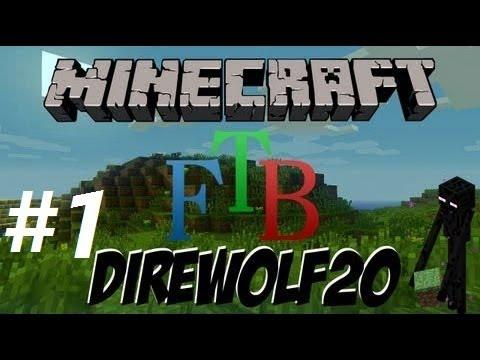 Minecraft FTB Direwolf #1 I مع الشباب