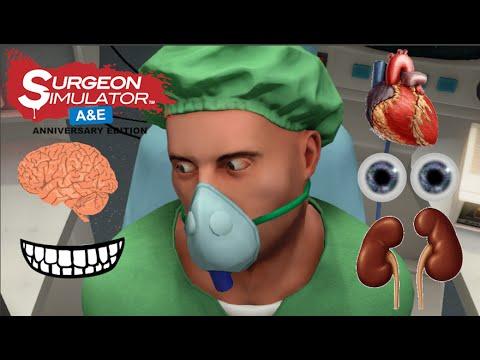 Surgeon Simulator ᴴᴰ : تحدي الدكتور المثالي