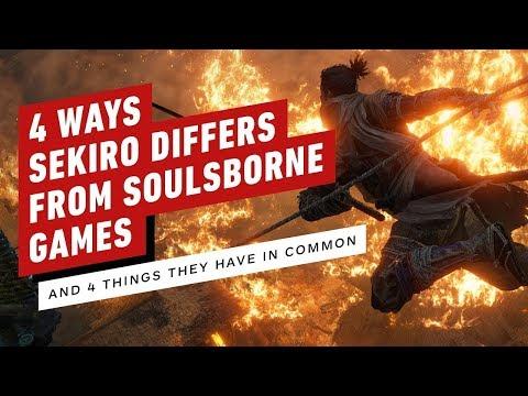 4 اختلافات و4 تشابهات بين ألعاب Sekiro و Soulsborne