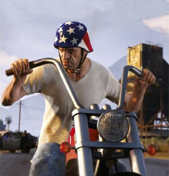 صورة جديدة مسربة للأسطورة GTA V.