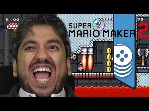 ألعاب نلعبها: هاشتاق شكراً عمران Mario Maker 2
