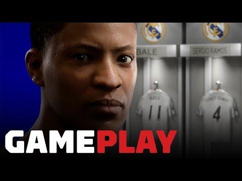 6 دقائق من طور Journey في لعبة FIFA 19 من معرض Gamescom