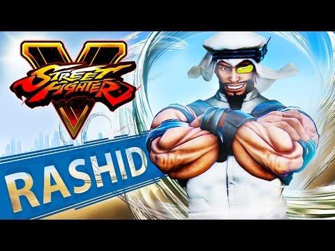 الكشف عن رشيد المقاتل العربي في Street Fighter V