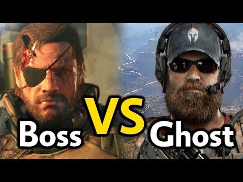 Ghost vs. Boss مقارنة