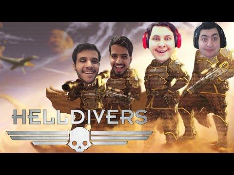 Helldivers ᴴᴰ : الابطال اللي ماعندهم سالفة