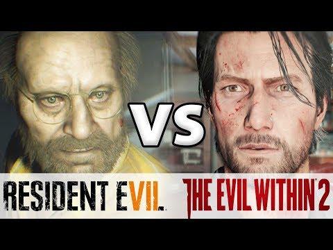 Resident Evil 7 .vs The Evil Within 2 أيهما أفضل؟
