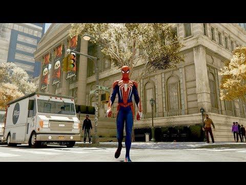 مترجم: عرض دعائي لعالم مدينة نيويورك المفتوح بلعبة Marvel's Spider