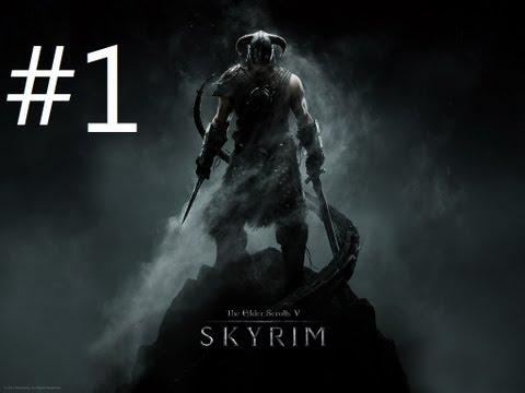 Elder Scrolls V: Skyrim Walkthrough #1 [Arabic]   تختيم سكايرم #1