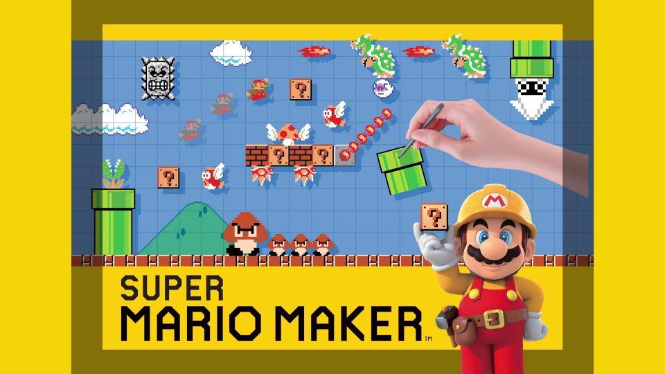 مراجعة Super Mario Maker