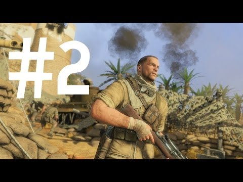 Sniper Elite 3 [ARABIC] تختيم الحلقة #2 جابريون