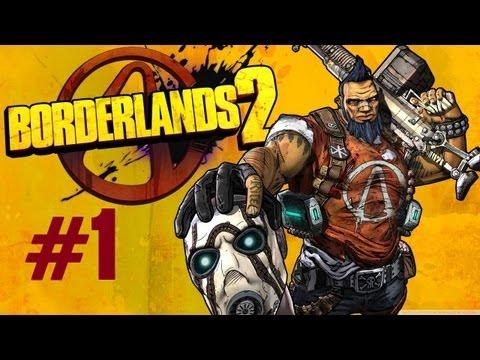 Borderlands 2 Let's Play w/arabgamers #1 [ARABIC] | بوردرلاندز 2 مع إبراهيم #1