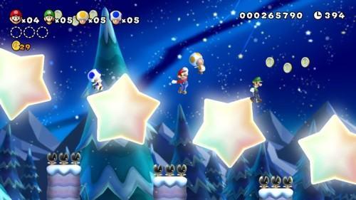 مراجعة New Super Mario Bros. U