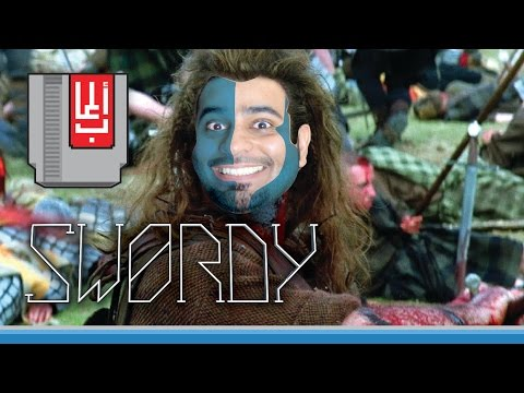 المحارب المتقروش!! نلعب Swordy