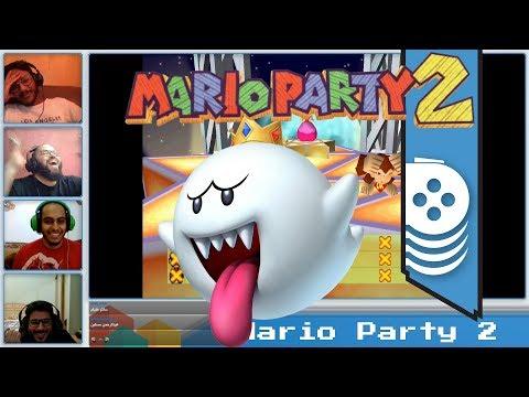مرحلة الرعب ????????!! Mario Party 2