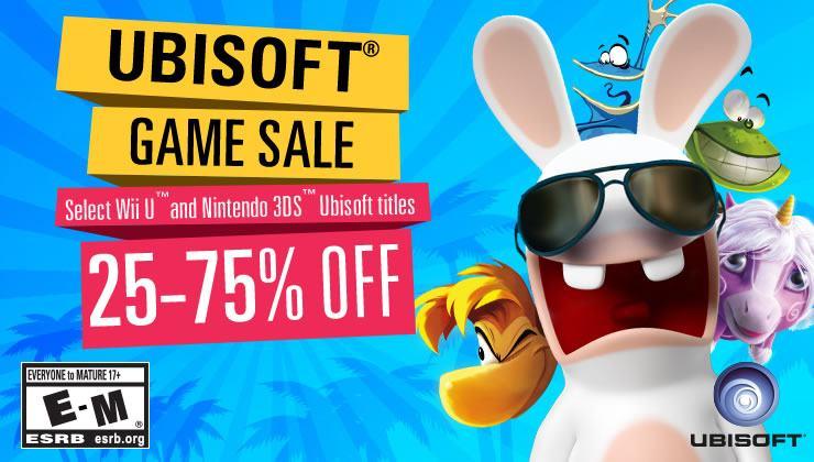 تخفيضات ضخمة لألعاب Ubisoft على متجر Nintendo