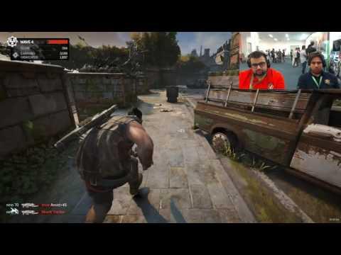 بث مباشر Gears of War 4 على دقة 4K وكرت انفيديا