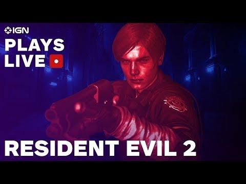 بث مباشر: ياسمين تلعب أخيراً أول لعبة رعب مع Resident Evil 2