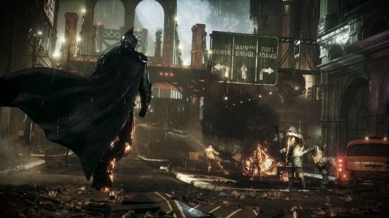 صورة للعبة batman arkham knight بدقة 4k