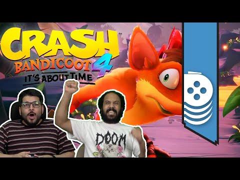 عودة كراش المذهلة Crash Bandicoot 4