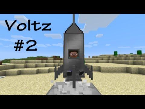 ماينكرافت مود الطريق الى القمر ( المركبة الفضائية ) VOLTZ #2 I