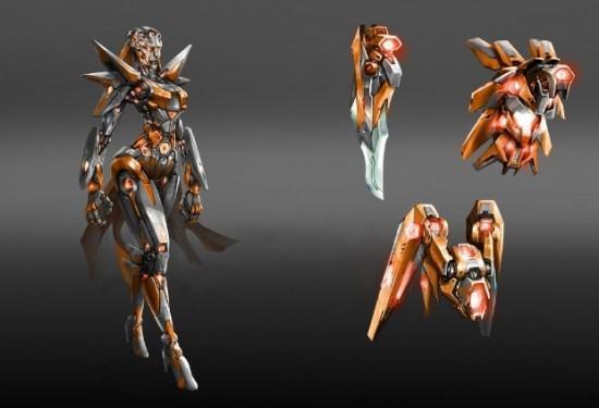 لنلقي النظرة الأولى على تصميم المقاتلة ARIA في Killer Instinct و المزيد