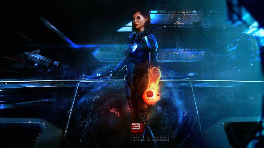 صور فنية مبهرة للعبة Mass Effect 3