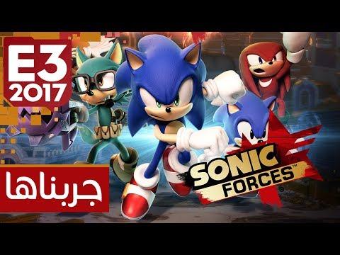 تجربتنا للعبة : Sonic Forces في E3 2017