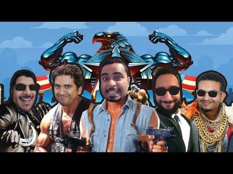أبطال أفلام زمان! نلعب Broforce