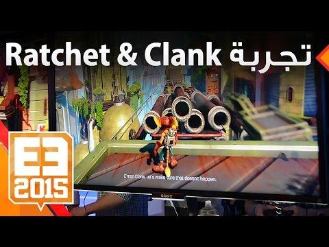 تجربة لعبة Ratchet & Clank الجديدة للـPS4