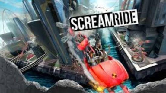 استعراض لعبة Scream Ride (باليابانية)