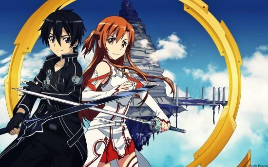 مراجعة انمى:sword art online