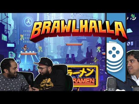 ألعاب نلعبها: نتحد ضد أحمد!! Brawlhalla