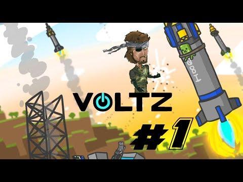 ماينكرافت مود الطريق الى القمر VOLTZ #1 I