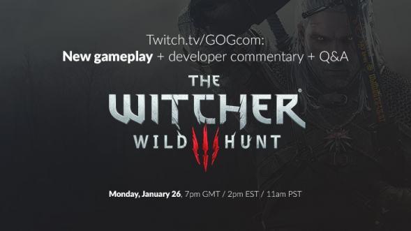 إستعدوا لرؤية 15 دقيقة جديدة من Gameplay لعبة The Witcher 3 في 26 يناير