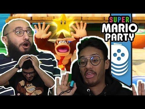 ألعاب نلعبها: عشوائية وكذب وحقد!! Super Mario Party
