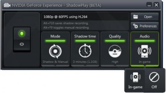 كيفية التصوير بتعريف نفيديا NVIDIA باعلى جودة ومساحة قليلة جدا برنامج خورافي