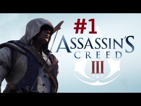 Assassin's Creed 3 Let's Play #1 [ARABIC] | أساسن كريد 3: الحلقة #1