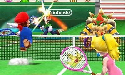 مراجعة Mario Tennis Open