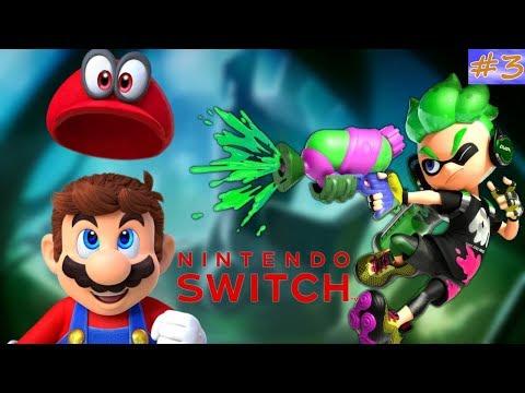 Mario Odyssey + Rabbids + Splatoon 2 تسفيل وتطبيل