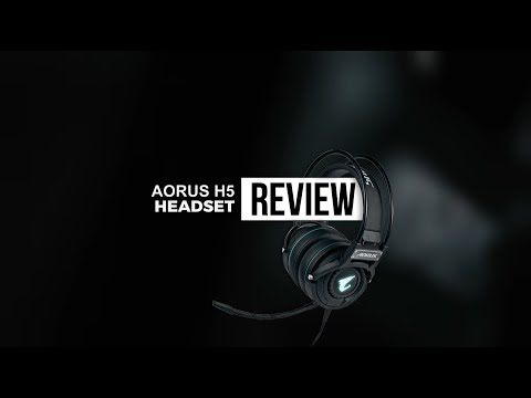 مراجعة سماعة الرأس Aorus H5 | صوت نقي مع خفة وزن !